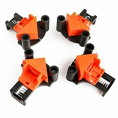 Wood Clamps, 4Pcs Set Multi-Angle 60 Degree 90 Degree 120 Degree Fixer, DIY Hand • 21.99£