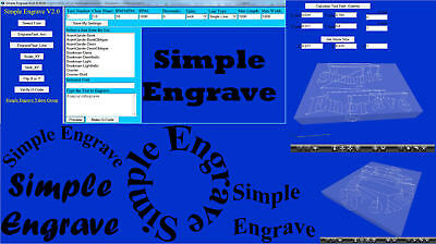Simple Engrave 3 Axis CNC Software • 17.89£