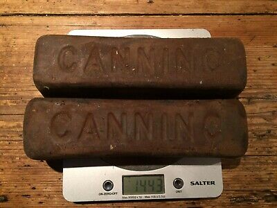 Metal Polishing Canning Polishing Compound X 2 Bars New Old Stock • 10£