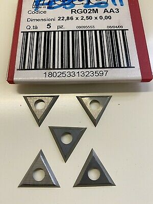 22.86mm Solid Carbide Triangle Spur Tips To Suit Freud RG02M AA3 • 12£