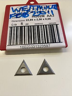 22.86mm Solid Carbide Triangle Spur Tips To Suit Freud RG02M AA3 • 6£