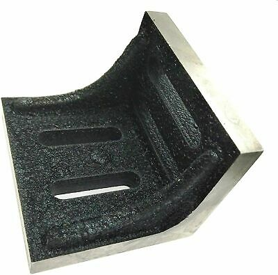 Slotted Webbed Angle Plate- Stress Relived High Grain Caste Iron Machine Tools • 26£