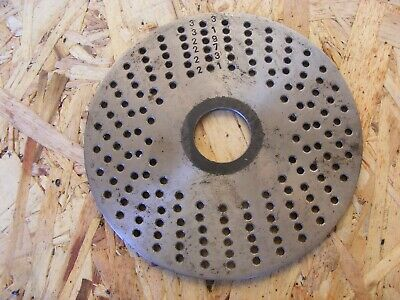 Dividing Indexing Plate • 10£
