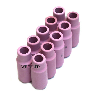 Ceramic Cup Nozzles For WP17, WP26, WP18W Tig Welding Torches X 10 • 7.99£