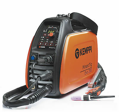 Kemppi MinarcTig 200 Evo Tig Welder, With Tig Torch & Earth, 230v  • 1,497£