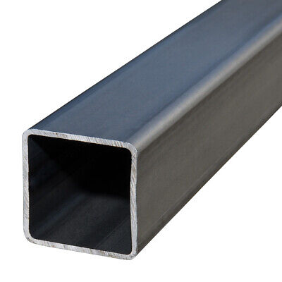 Plain Box Section Mild Steel SHS Square Hollow Section 2.5mm - 2 X 3m Lengths • 38.40£