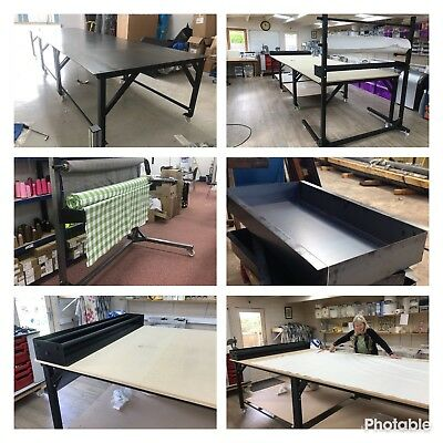 Fabric Cutting Tables + Equipment Package 3mx1.5m Plus Table Top And Mobile Disp • 1,300£