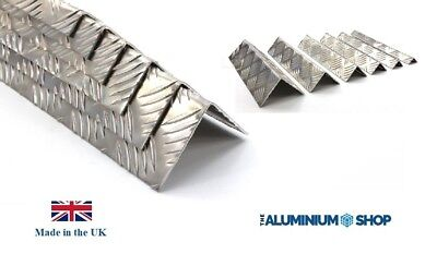 Tread Plate Angle Corner Protection 2mm Thick 90 Degree / Chequer Plate Angle • 14.99£