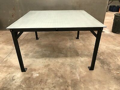 Automotive Upholstery Cutting Table Custom Made 1500mm X 1500 X 900 • 350£