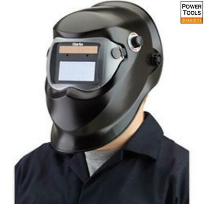 Clarke GWH4 Black Arc Activated Solar Powered Grinding/Welding Headshield • 39.75£