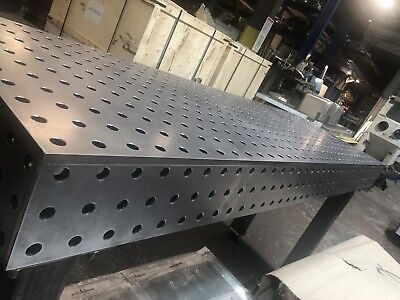 Welding Bench / Jig Table / Fixture Table 1900mm X 600mm 12mm Thick Steel • 1,950£