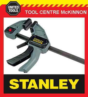 STANLEY FATMAX QUICK-GRIP STYLE 300mm ONE HANDED BAR CLAMP – 135kg CAPACITY • 23.66£
