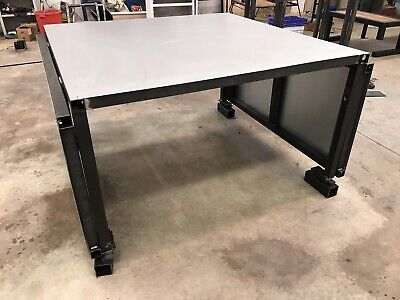 Fabric Cutting Table 1500x1500 With 2 750mm Extension Total 3m • 850£