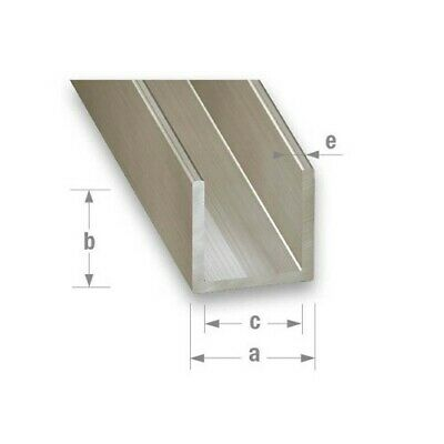 Stainless Steel U Channel (304L Grade) - Various Sizes Available • 13.99£