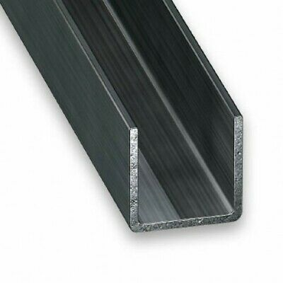 Cold Pressed Steel Channel (U Channel) - Various Sizes • 4.69£