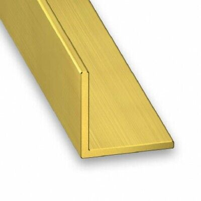 Solid Brass Corner Trim / Equal Angle - Various Sizes • 13.43£