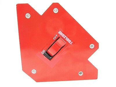 Magnetic Welding Magnet Arrow 30lb Weld Holder With On Off Switch Triangle WH044 • 16.95£