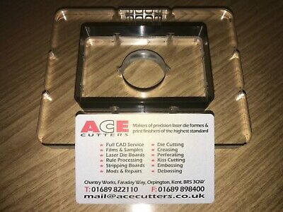 Clicker Press BESPOKE ACRYLIC Cutters Tools Dies Knives For ATOM SAMCO HAWKES • 50£
