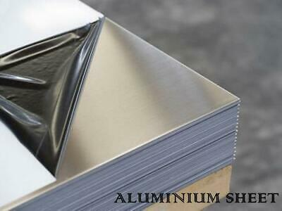ALUMINIUM SHEET PLATE 1mm - 3mm THICK   FREE BESPOKE CUTTING   • 24.99£
