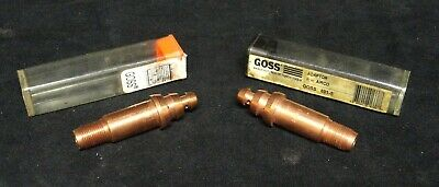 Goss - Tip Adaptor - Airco - Model 801-s - Lot Of 2 - New In The Container • 14.33£