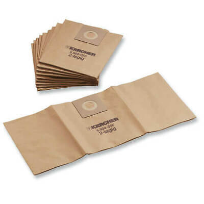 Karcher M Class Paper Filter Dust Bags For NT 27/1 Vacuum Cleaners Pack Of 10 • 22.95£