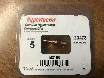 Hypertherm 120473 Max1100 Electrode, Pack 5 • 30£