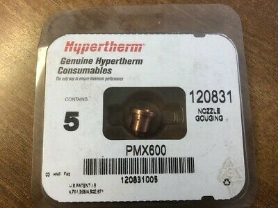 Hypertherm 120831 Max600 Gouging Nozzle, Pack 5 • 25£