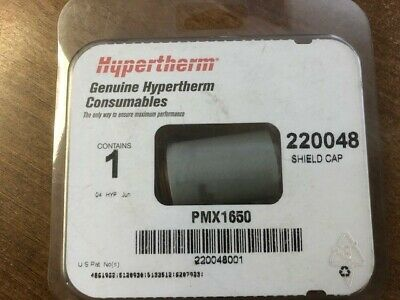 Hypertherm 220048 PMX1650 Shield Cap, 1 Pc • 24£
