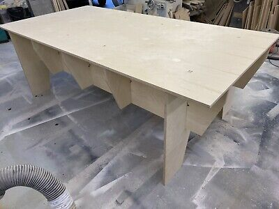8ft X 4ft Workbench Router Table In BIRCH PLY • 275£