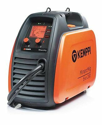 Kemppi MinarcMig 200 Evo Adaptive Mig Welder Package, 3 Year Warranty, 230v • 1,070£
