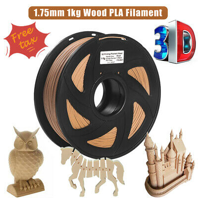 Wood 3D Printer Filament 1.75mm 1KG PLA Spool For Printing Wood-Looking Parts • 16.99£