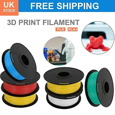 3D Printer Filament PLA Printing 1.75mm 1KG Various Colours Available UK STOCK • 12.59£