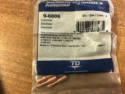 Thermal Dynamics 9-6006 Electrode, 3 Pcs • 15£