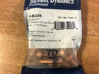 Thermal Dynamics 9-8225 Gouging Tips, 5 Pcs • 24£