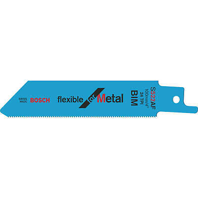 Bosch S522AF Metal Reciprocating Saw Blades Pack Of 5 • 12.95£