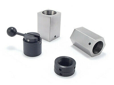 5C Collet Blocks Set DM-268 Square Hexagonal Collet Closer • 57.78£