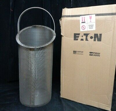 EATON 316ss STRAINER BASKET (NEW) PN: 8181510240 16  #510/#5 20/#570 1/8  PERF • 98.29£