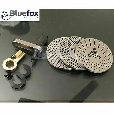 Indexing Plate Set/ Dividing Plate Set For 4  And 6  Rotary Table • 99.50£