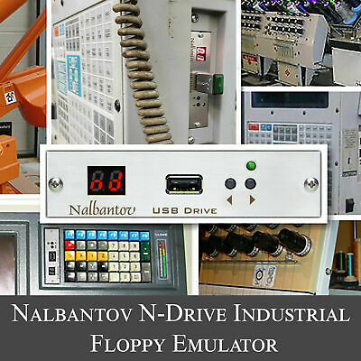Nalbantov USB Floppy Drive Emulator N-Drive Industrial For Amada Brake Press • 161.17£
