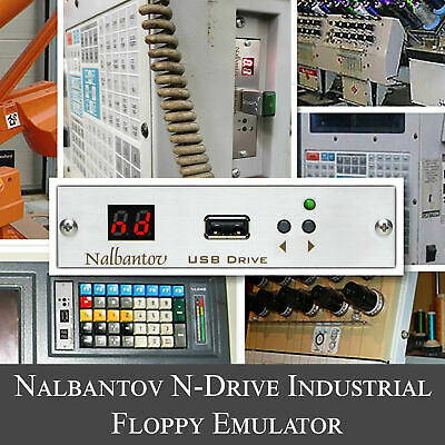 Nalbantov USB Floppy Emulator N-Drive Industrial For AGIE 100D Wire EDM Machine • 169.49£