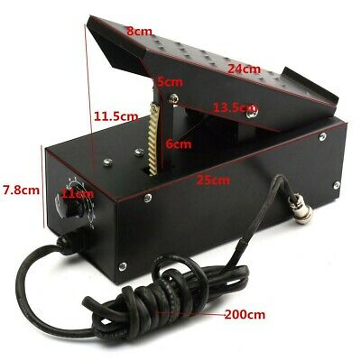Welder Foot Pedal 7Pin For TIG 5 Pin For TIG Welding Machings Power Control Plug • 54.89£