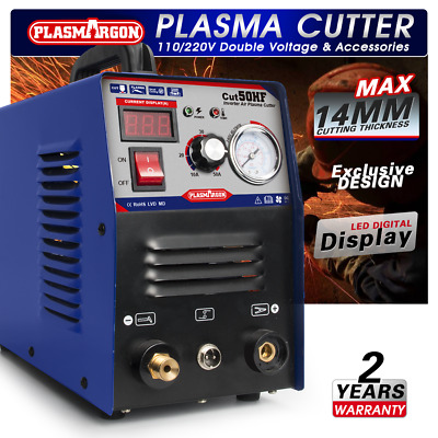 50A Plasma Cutter HF 230V CNC Compatible PT31 Torch & Consumables IN GB  • 160£