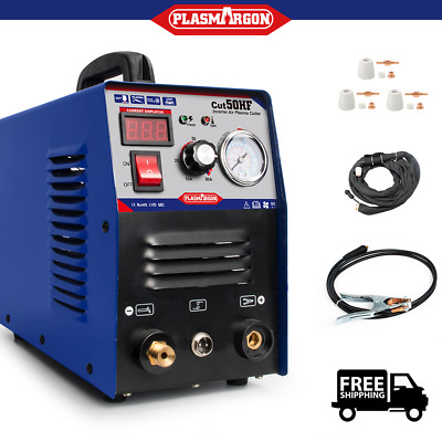 50Amp Plasma Cutter & Pt31 Torch & Consumables Plasma Cutting Machine 1-14mm CUT • 155£