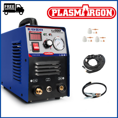 50A New 14mm Cut HF Start Plasma Cutter, Everything Included,Air Plasma Cutting • 156£