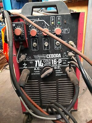 Cebora TigStar 16.P 240v Single Phase Tig Welder • 680£