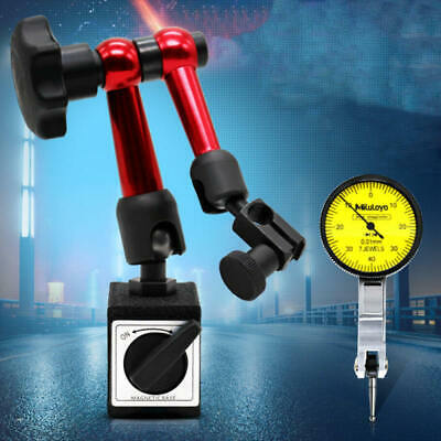 Adjustable Magnetic Gauge Stand Base Holder Digital Level Dial Test Indica New • 13.69£