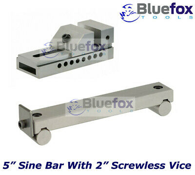 5  Sine Bar With 2  Screwless (pin Type) Toolmakers Grinding Vice • 83.99£