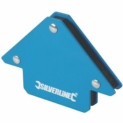 Silverline Welding Magnet, Unrestricted Hand Use & Accurate Work - 45, 90 & 135° • 3.49£