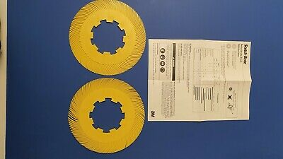 Scotchbrite Radial Bristle Discs T-C Refil Metal Finishing 80 Grit 7 5/8 In X 5  • 9.99£