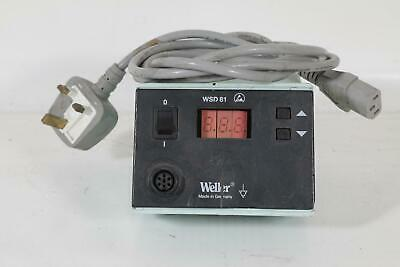 Weller WSD81 Soldering Station Digital Power Supply - Tested OK Cosmetic Issues • 99£